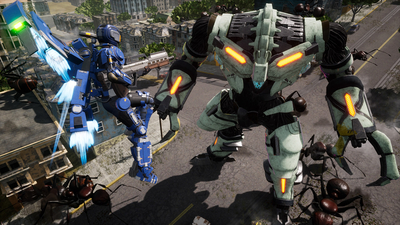 Earth Defense Force: Iron Rain Screenshot 2