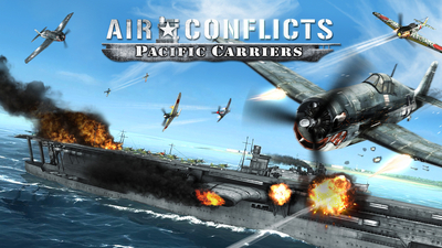 Air Conflicts: Pacific Carriers Masthead