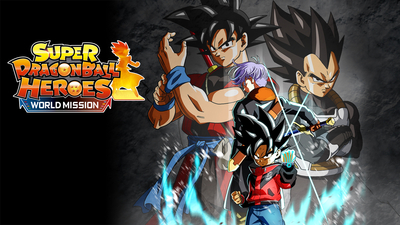SUPER DRAGON BALL HEROES WORLD MISSION Masthead