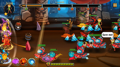 Dungeons and Aliens Screenshot 3
