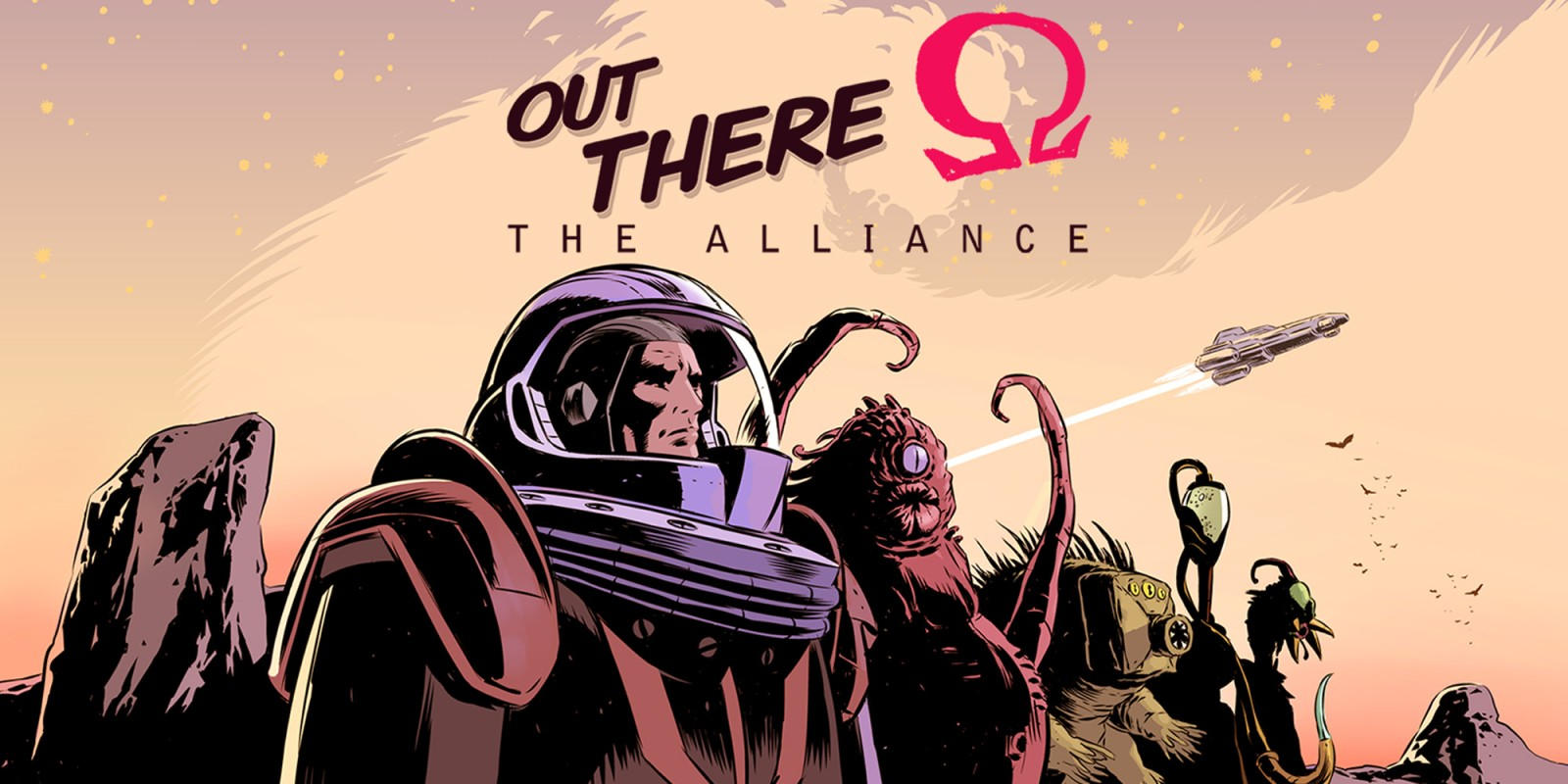 Out There: Ω The Alliance Masthead