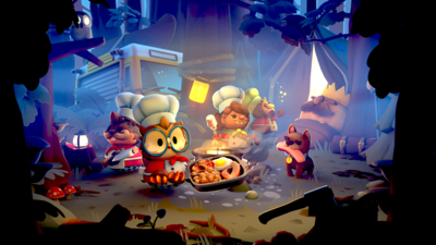 Overcooked! 2 - Campfire Cook Off Masthead