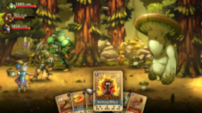 SteamWorld Quest: Hand of Gilgamech Screenshot 2