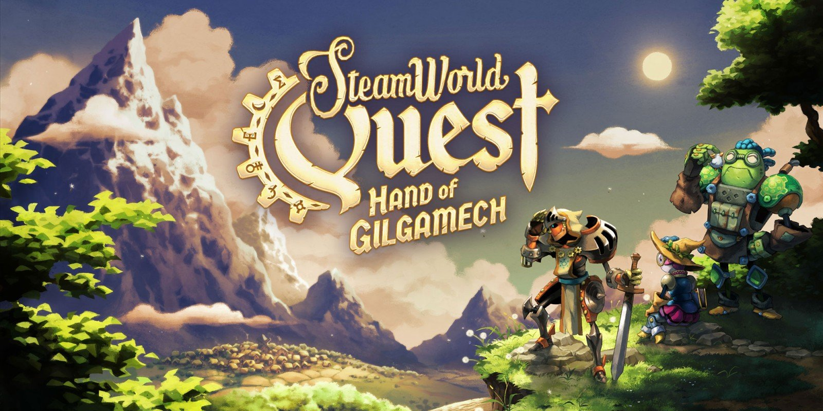 SteamWorld Quest: Hand of Gilgamech Masthead