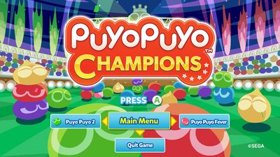 Puyo Puyo Champions Screenshot 2