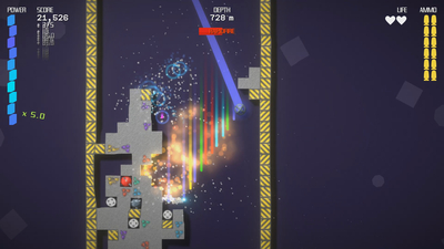 Comet Crasher Screenshot 1