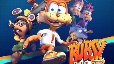 Bubsy: Paws on Fire! Masthead
