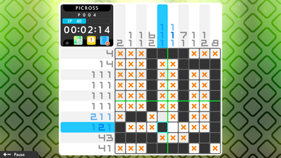 Picross S3 Screenshot 1