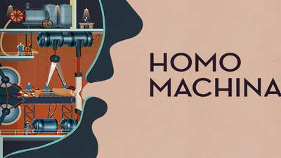 Homo Machina Masthead