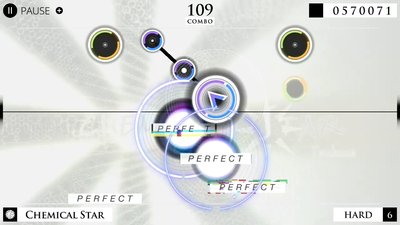 Cytus α Screenshot 2