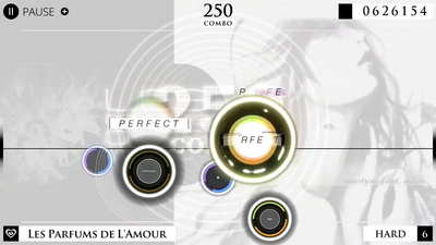 Cytus α Screenshot 1