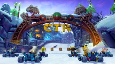 Crash Team Racing: Nitro-Fueled Screenshot 2