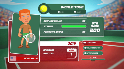 Super Tennis Blast Screenshot 8