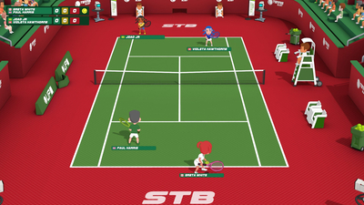 Super Tennis Blast Screenshot 1