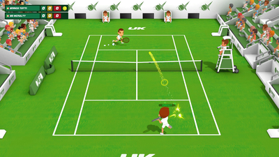 Super Tennis Blast Screenshot 2