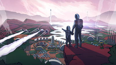 Surviving Mars: Green Planet Masthead