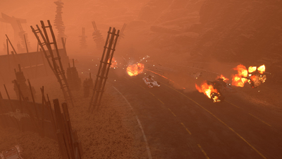 Dark Future: Blood Red States Screenshot 9