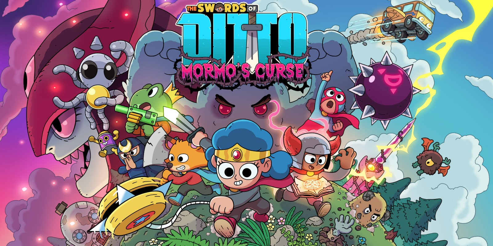 The Swords of Ditto: Mormo's Curse Masthead