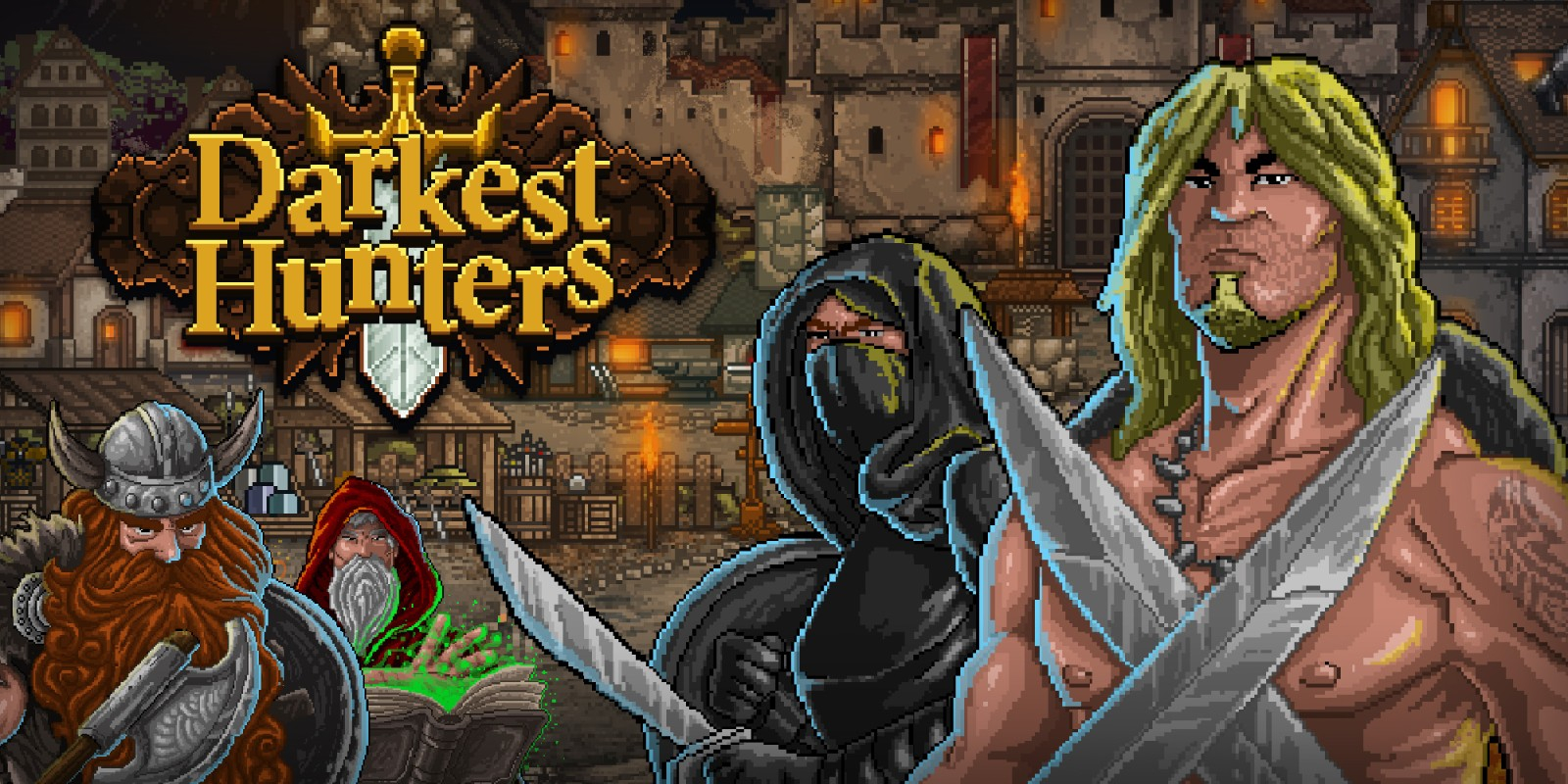 Darkest Hunters Masthead