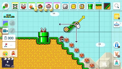 Super Mario Maker 2 Screenshot 1