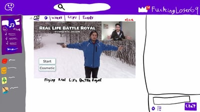 Real Life Battle Royal: It's gonna be an... EPIC game Screenshot 6