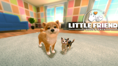 Little Friends: Dogs & Cats Masthead