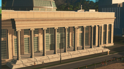 Cities: Skylines - Campus Screenshot 2