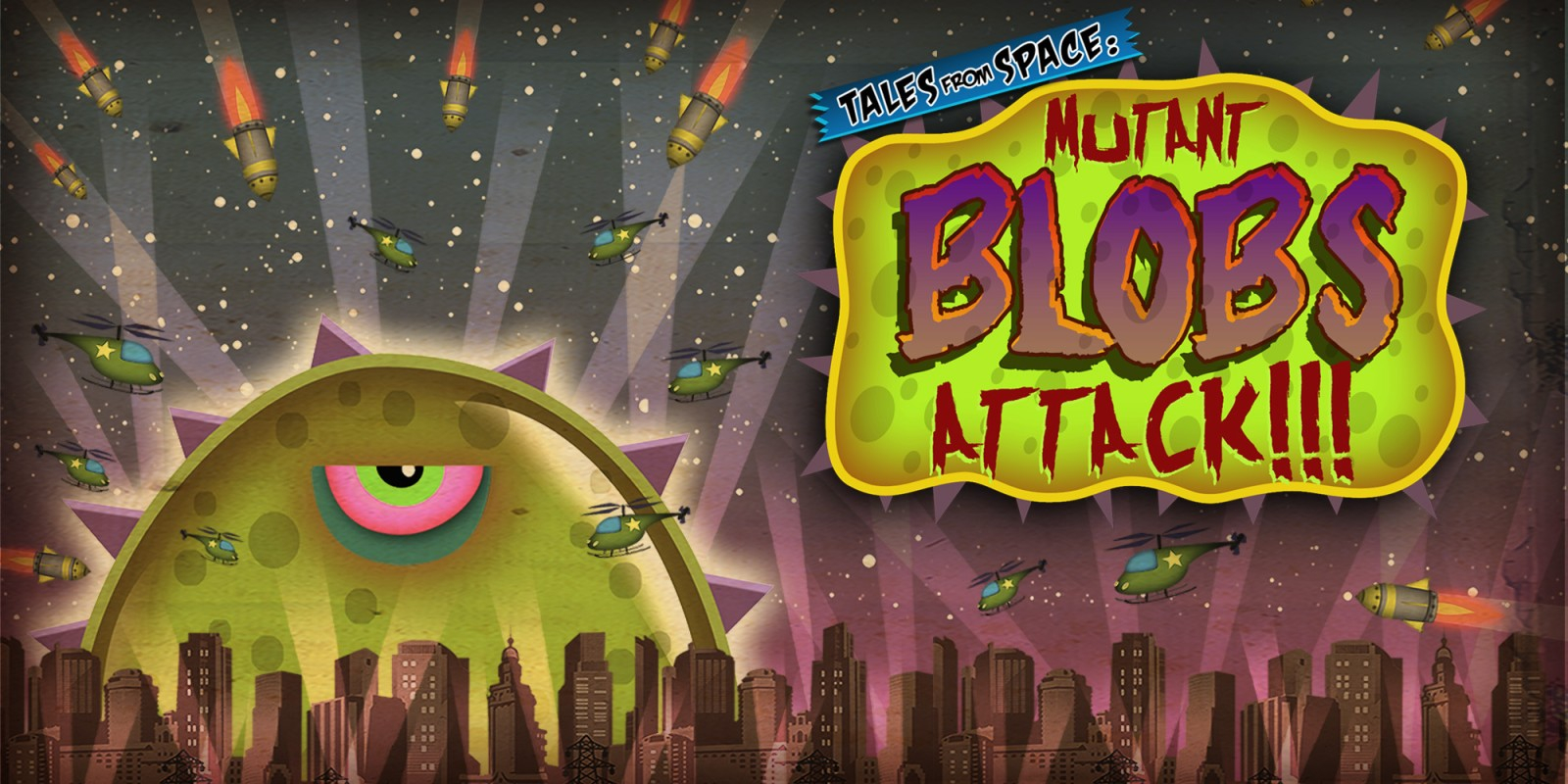 Tales From Space: Mutant Blobs Attack Masthead