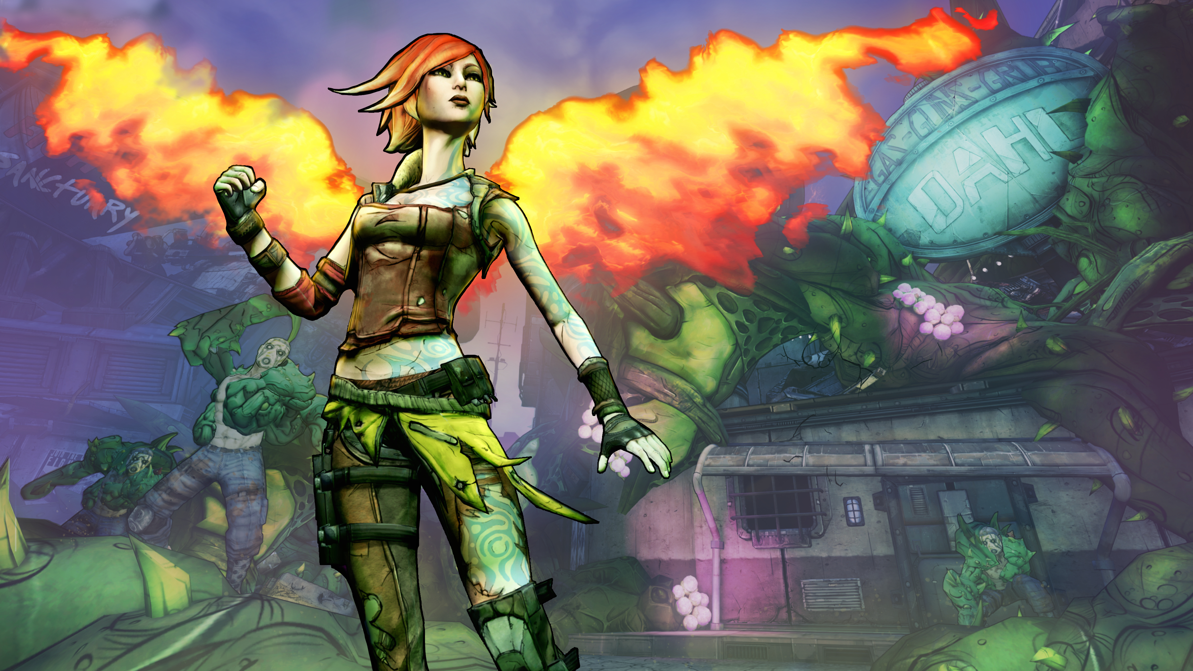 Borderlands 2: Commander Lilith and The Fight For Sanctuary Masthead
