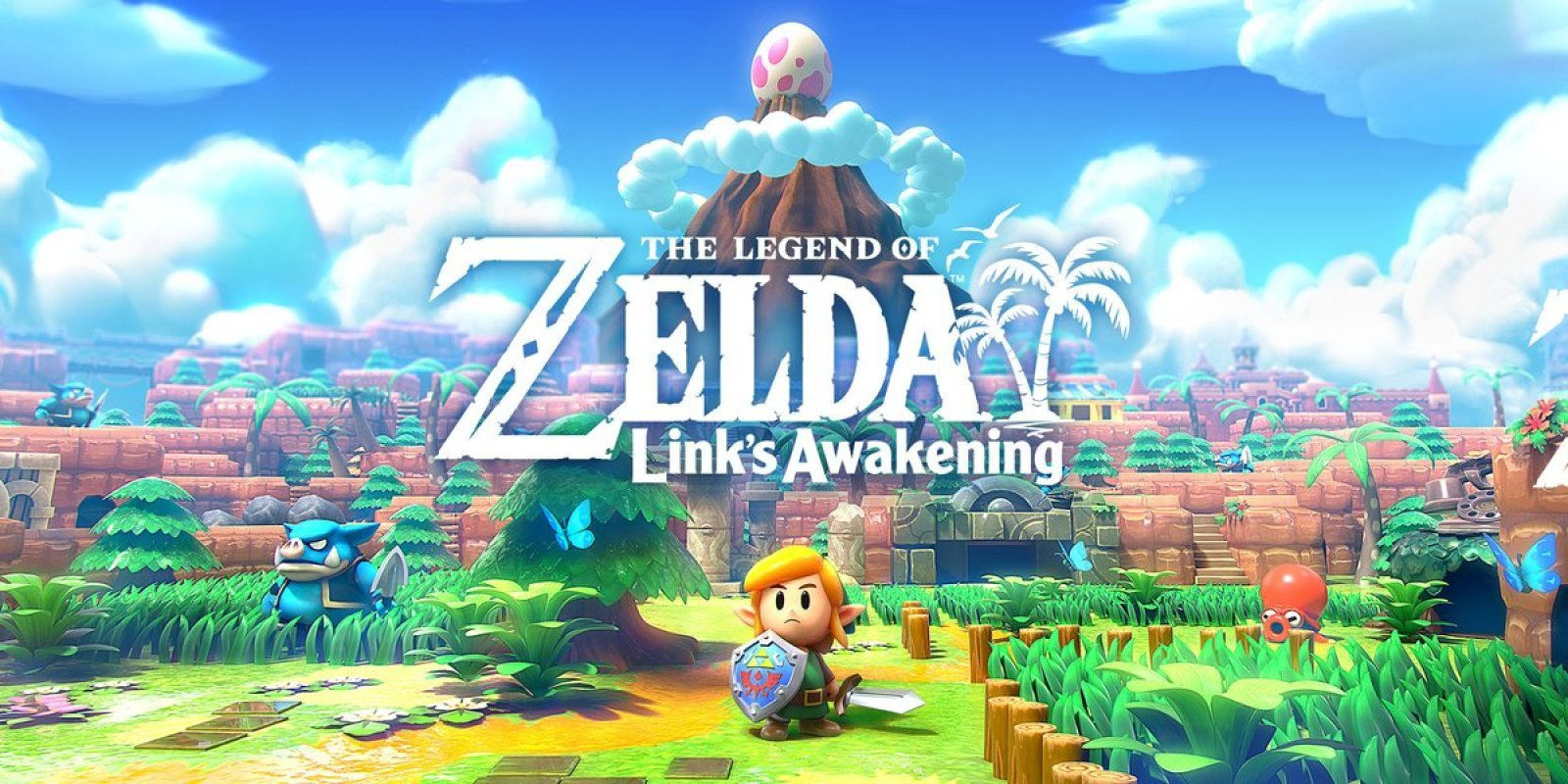 The Legend of Zelda: Link's Awakening Masthead