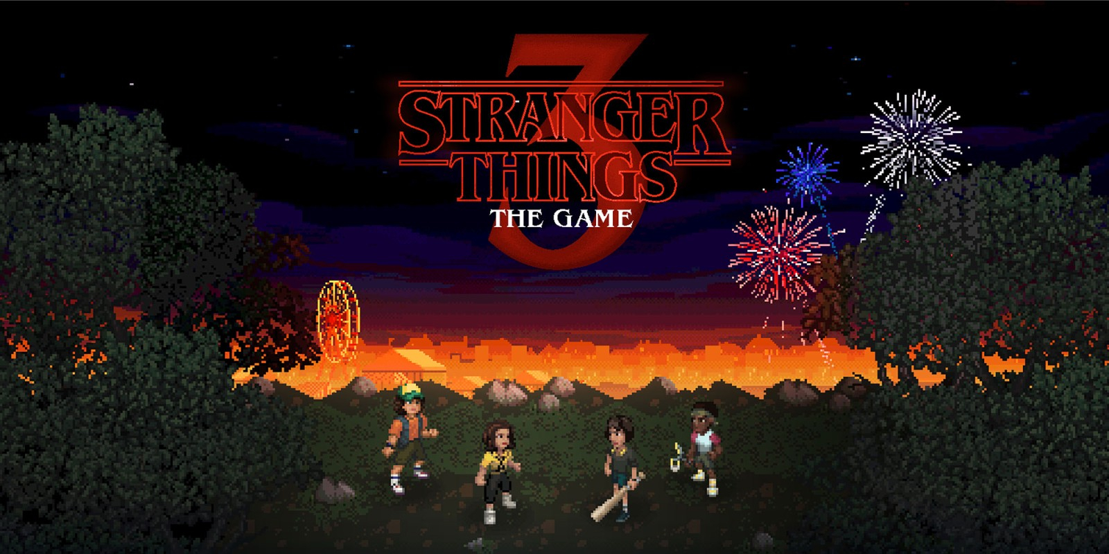 Stranger Things 3: The Game Masthead