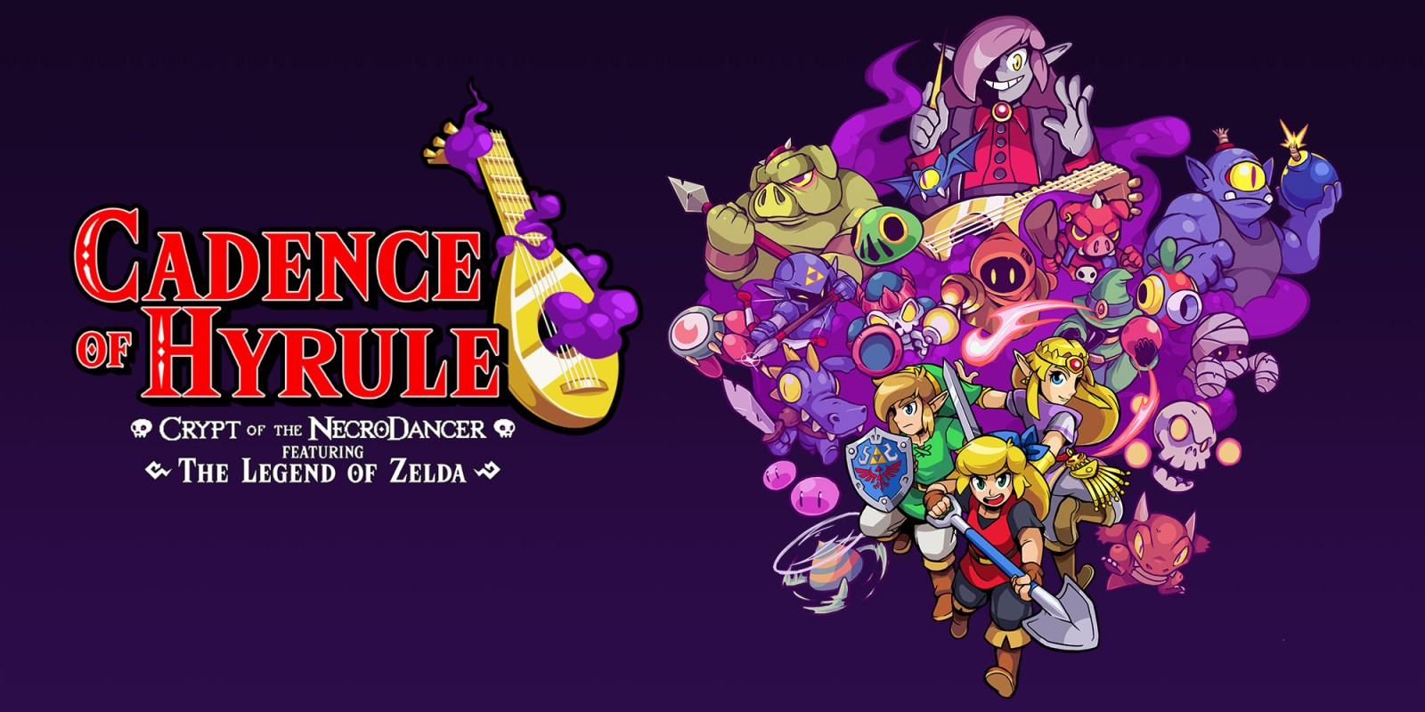 Cadence of Hyrule: Crypt of the NecroDancer Masthead