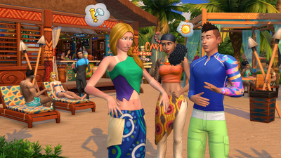 The Sims 4: Island Living Screenshot 4