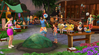The Sims 4: Island Living Screenshot 3
