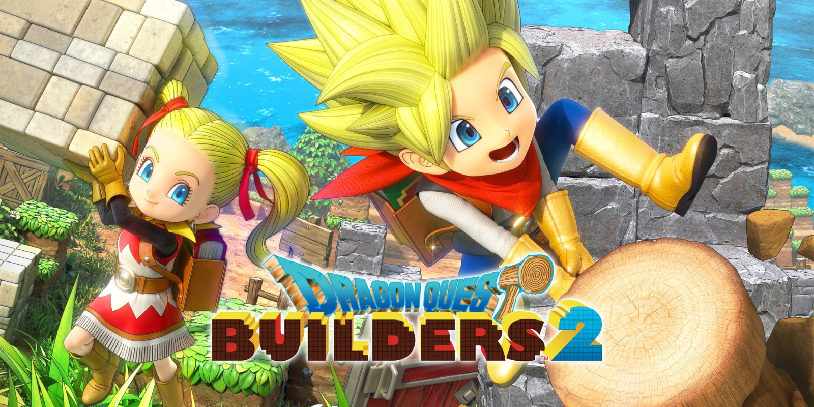 Dragon Quest Builders 2 Masthead