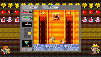 Wonder Boy: Monster Land Screenshot 2
