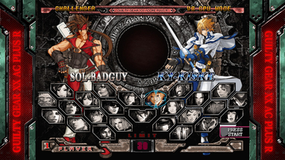 Guilty Gear XX Accent Core Plus R Screenshot 1