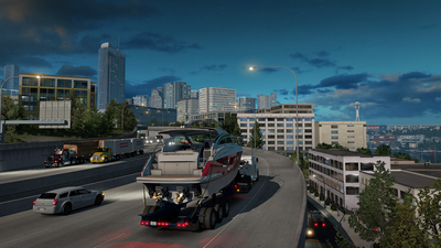 American Truck Simulator - Washington Masthead