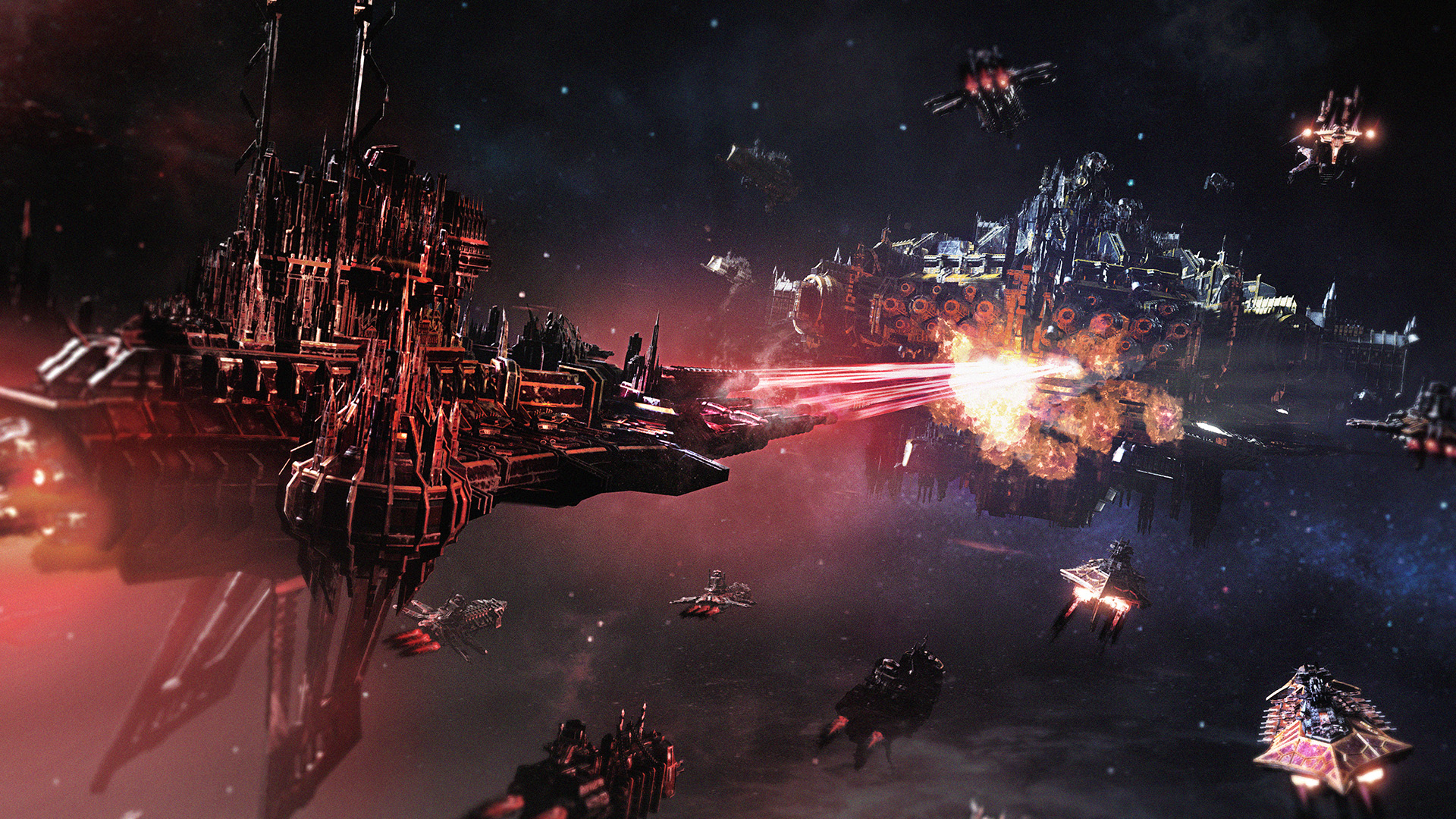Battlefleet Gothic: Armada 2 - Chaos Campaign Expansion Masthead