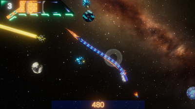 Peku the Space Dragon Screenshot 3