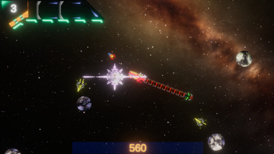 Peku the Space Dragon Screenshot 1