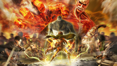 Attack on Titan 2: Final Battle Masthead
