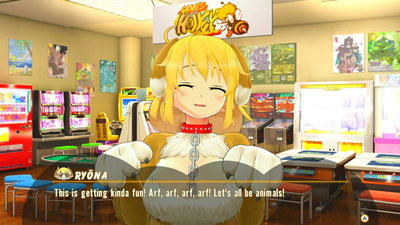 Senran Kagura: Peach Ball Screenshot 3