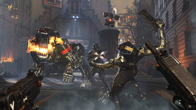 Wolfenstein: Youngblood - Nintendo Switch Screenshot 2