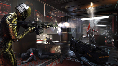 Wolfenstein: Youngblood - Nintendo Switch Screenshot 1