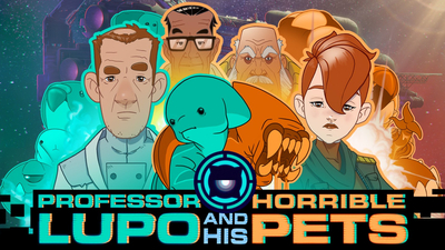 Professor Lupo and His Horrible Pets Masthead