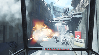 Wolfenstein: Cyberpilot Screenshot 1