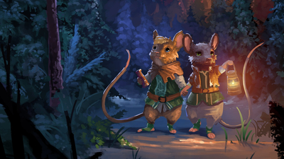 The Lost Legends of Redwall: The Scout Masthead