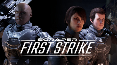 Scraper: First Strike Masthead