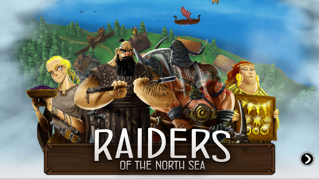 Raiders of the North Sea Masthead